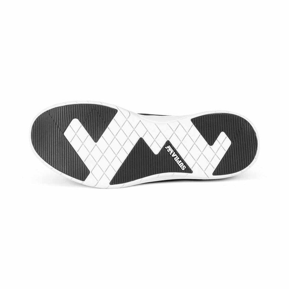 Supra-Flow-Run-Shoes-Black-Black-White-2