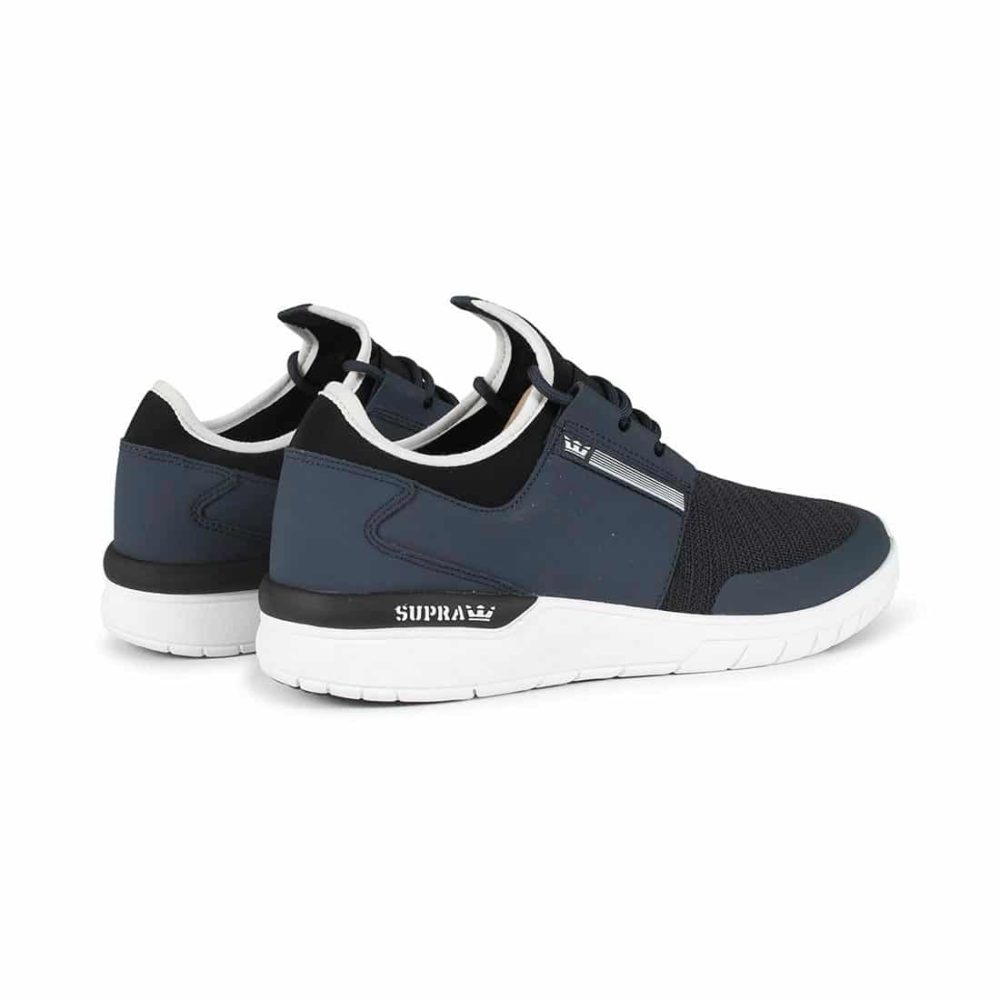Supra Flow Run Shoes - Navy / White