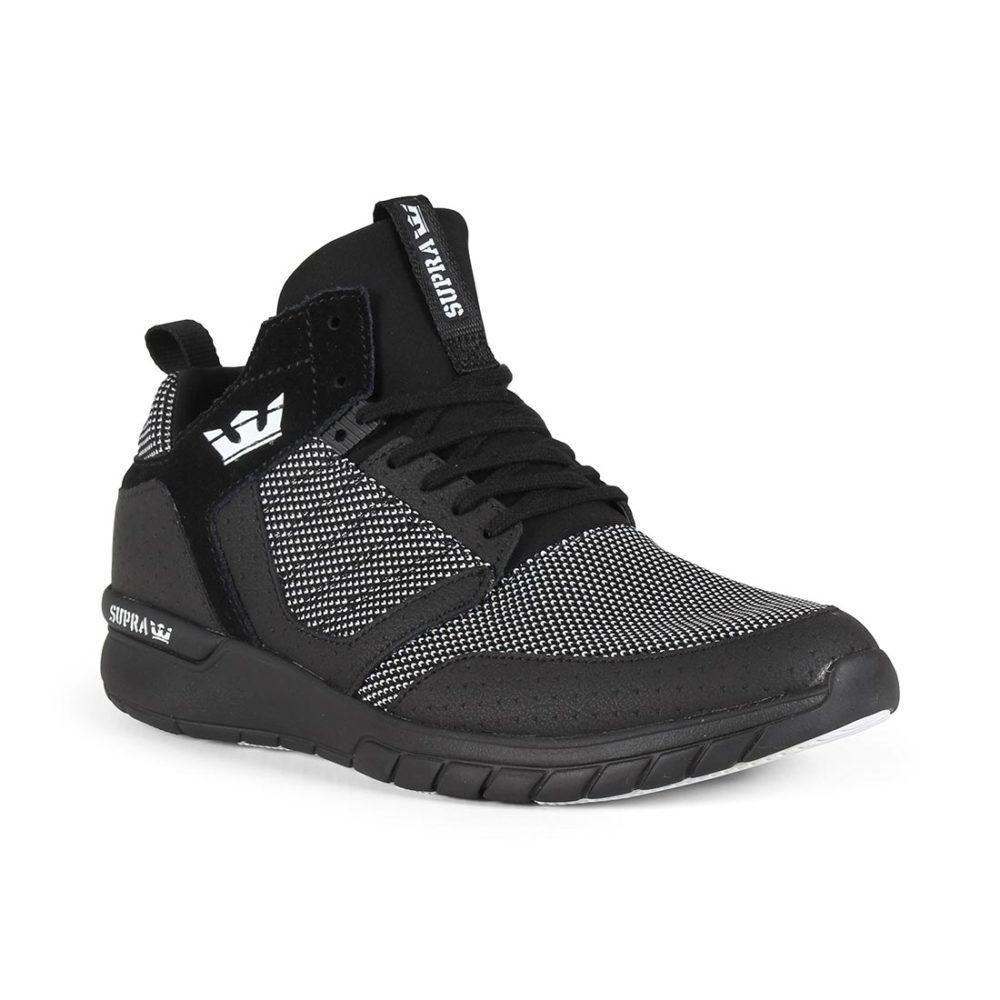 Supra Method Shoes - Black / White / Black