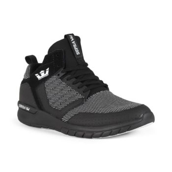 Supra Method Shoes - Black / White / Black