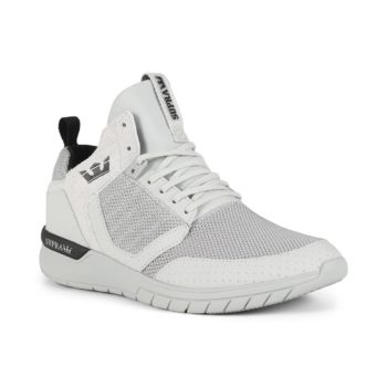 Supra Method Shoes - Cool Grey / Black / Cool Grey