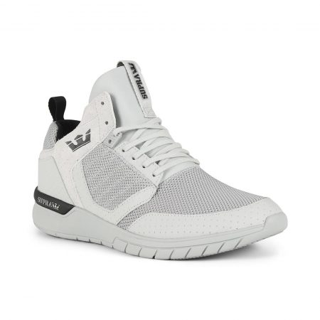 Supra Method Shoes - Cool Grey / Black / Cool Grey
