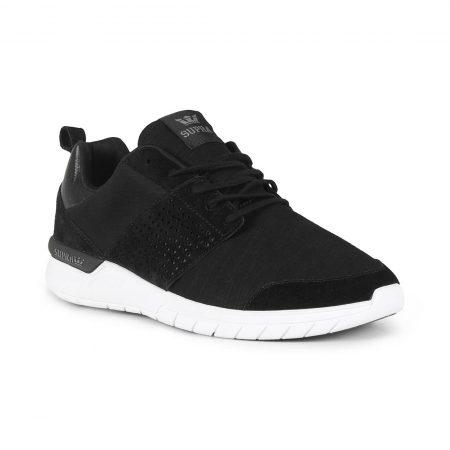 Supra Scissor Shoes - Black / Charcoal