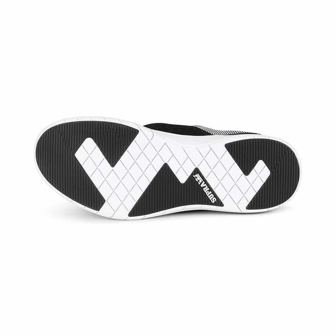 Supra Scissor Shoes - Black / White / White
