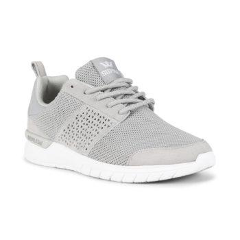Supra Scissor Shoes - Lt Grey / White