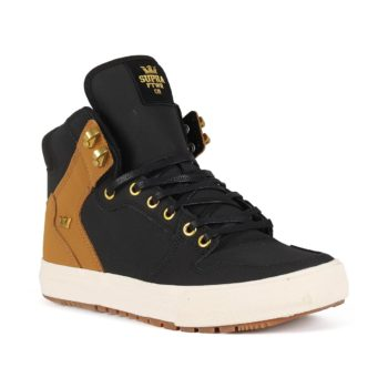 Supra Vaider CW Shoes - Black / Tan / Bone