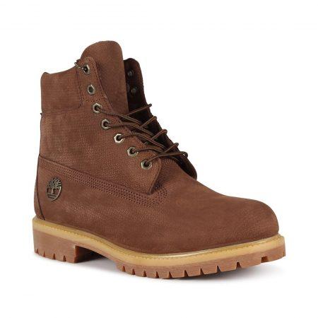 Timberland 6 Inch Premium Boot - Dark Brown Nubuck