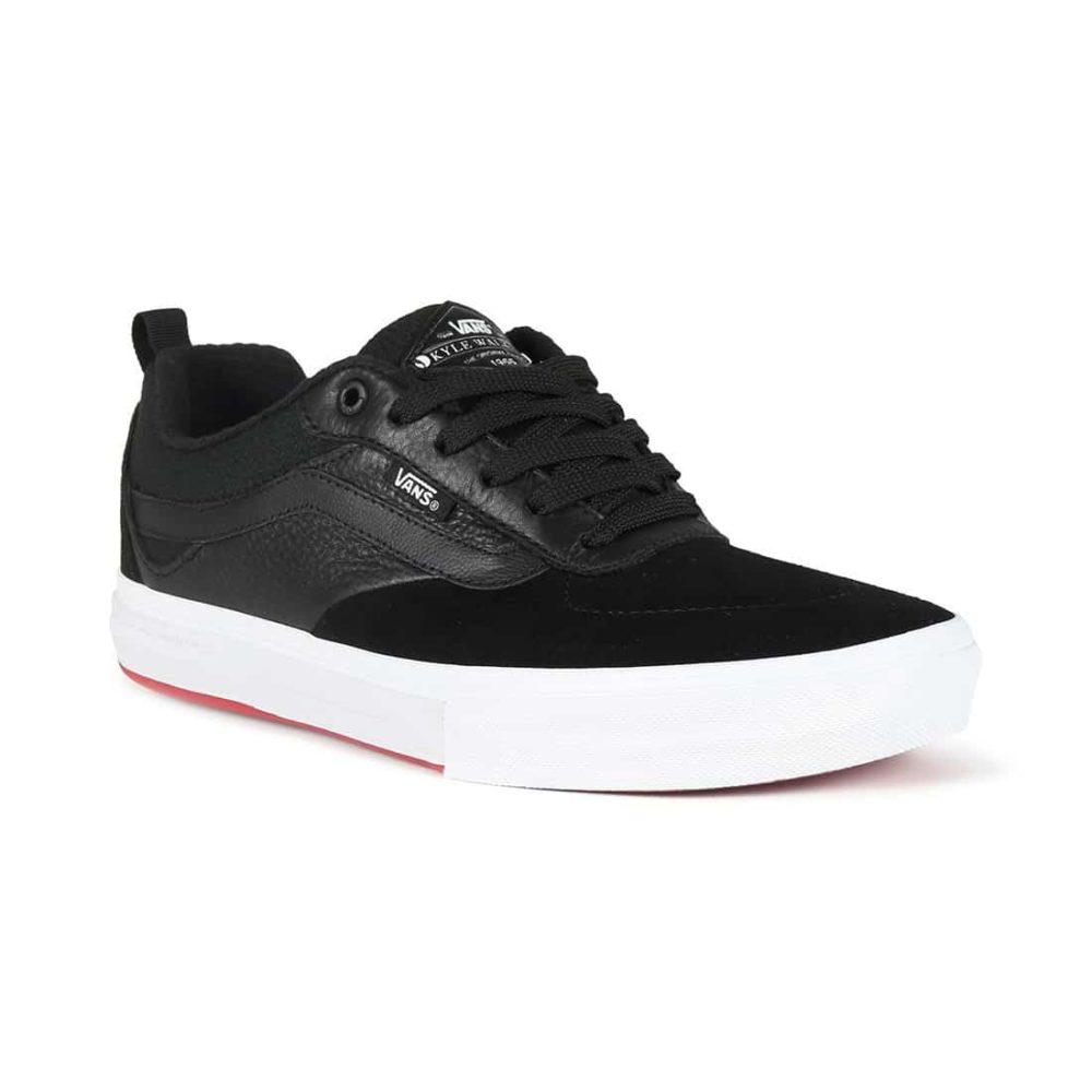 8c70f52de74 Vans Kyle Walker Pro Skate Shoes - Black   Red