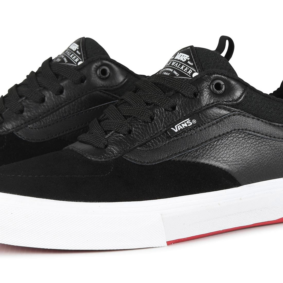 4a4c9689faea23 ... Vans-Kyle-Walker-Pro-Skate-Shoes-Black-Red ...