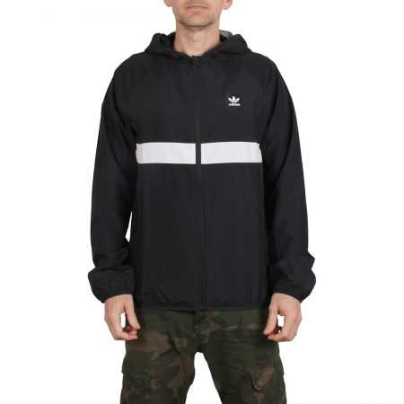 Adidas BB Wind Jacket - Black / White