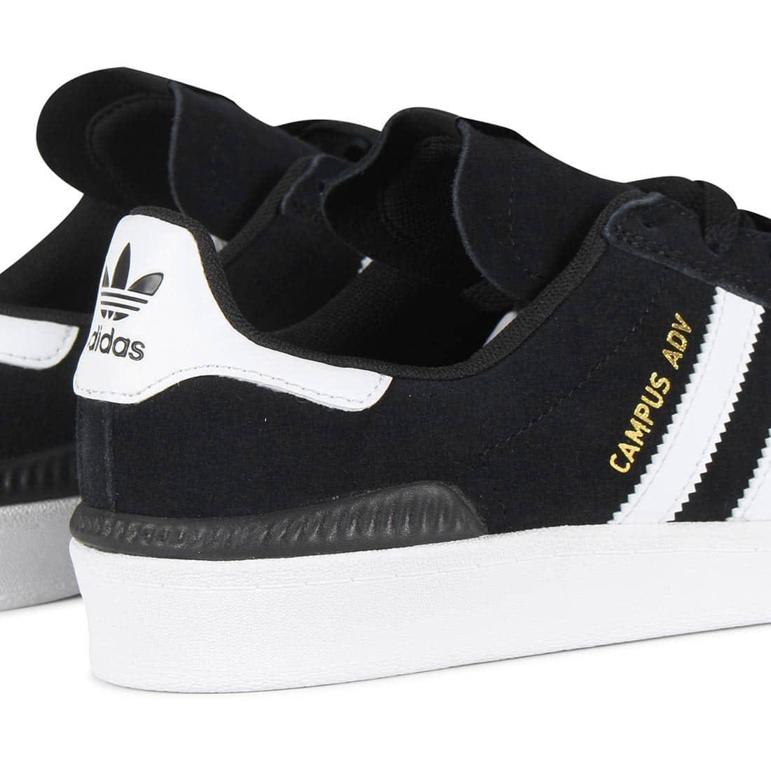 finest selection 5da90 07dd3 Adidas Campus ADV Shoes - Core Black / White / White