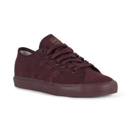 Adidas Matchcourt RX Shoes - Night Red / Hi-Res Red / Gold Met