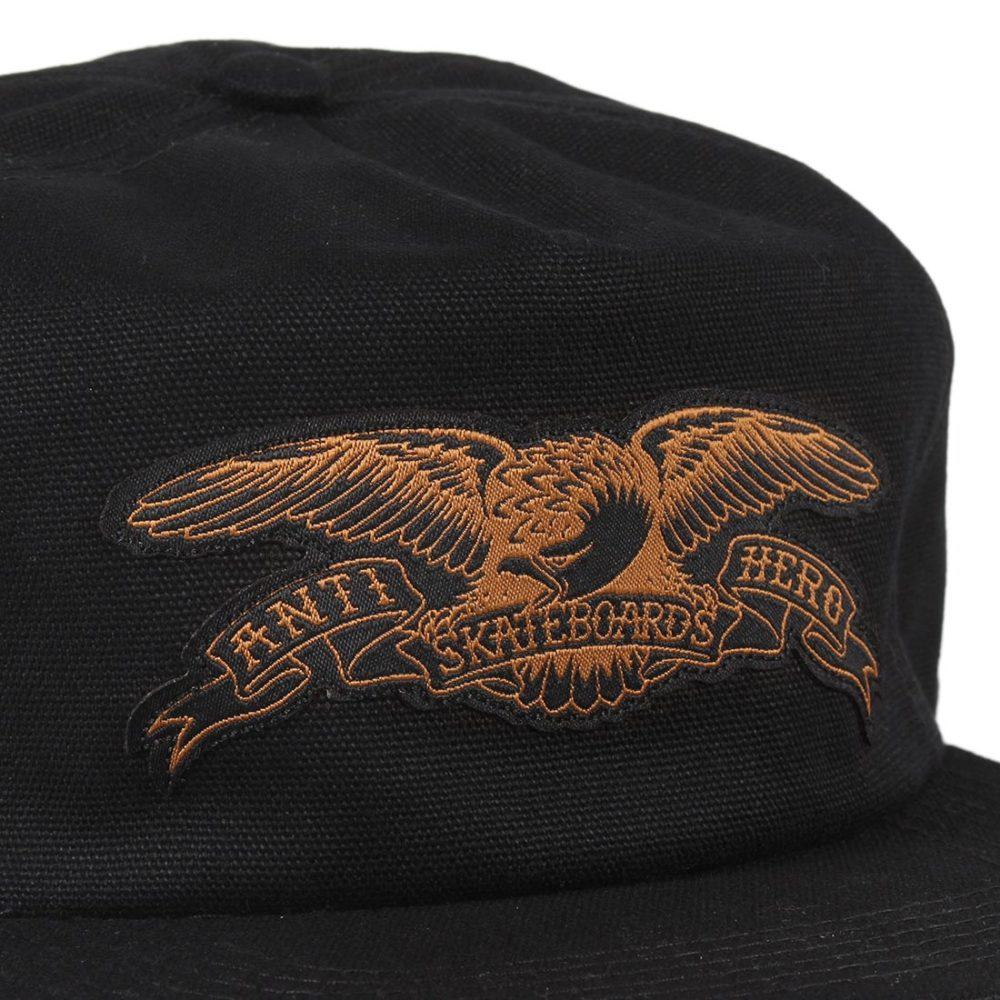 Anti-Hero-Basic-Eagle-Patch-Snapback-Cap-Black-Brown-02
