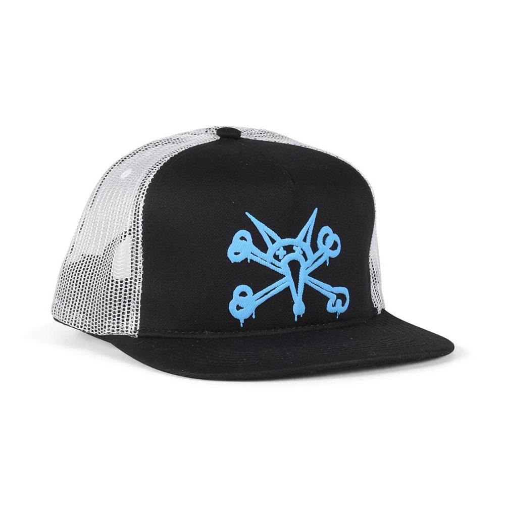 Bones Puff Trucker Cap - Black / Blue