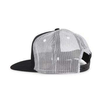 Bones Puff Trucker Cap - Black / White