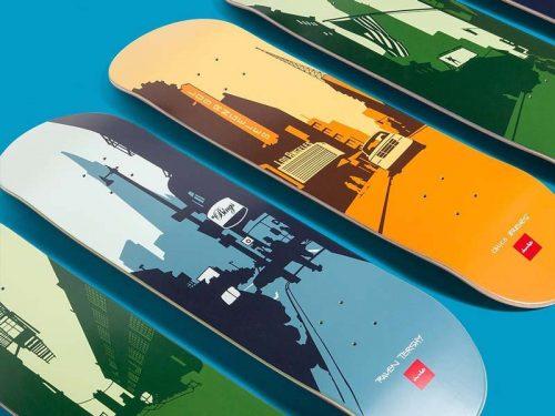Chocolate Skateboards City Series