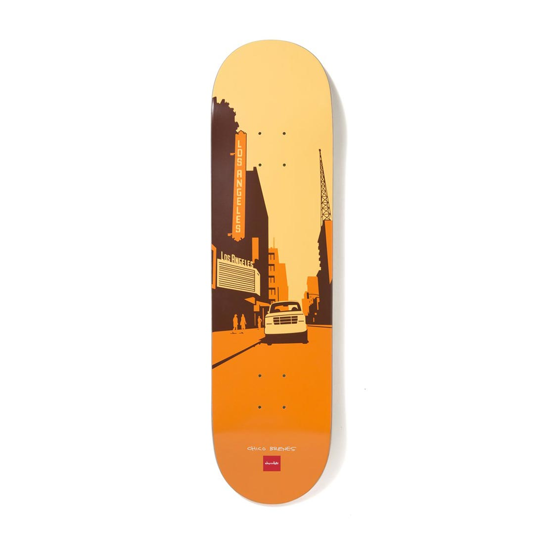 "Chocolate Skateboards The City Series Chico Brenes 8.25"" Deck"