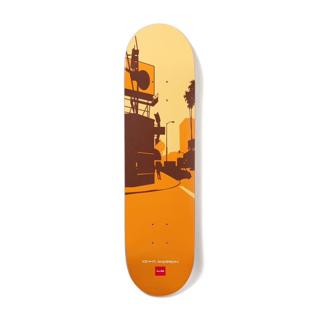 """Chocolate Skateboards The City Series Kenny Anderson 8.125"""" Deck"""