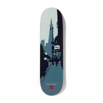 """Chocolate Skateboards The City Series Raven Tershy 8.25"""" Deck"""