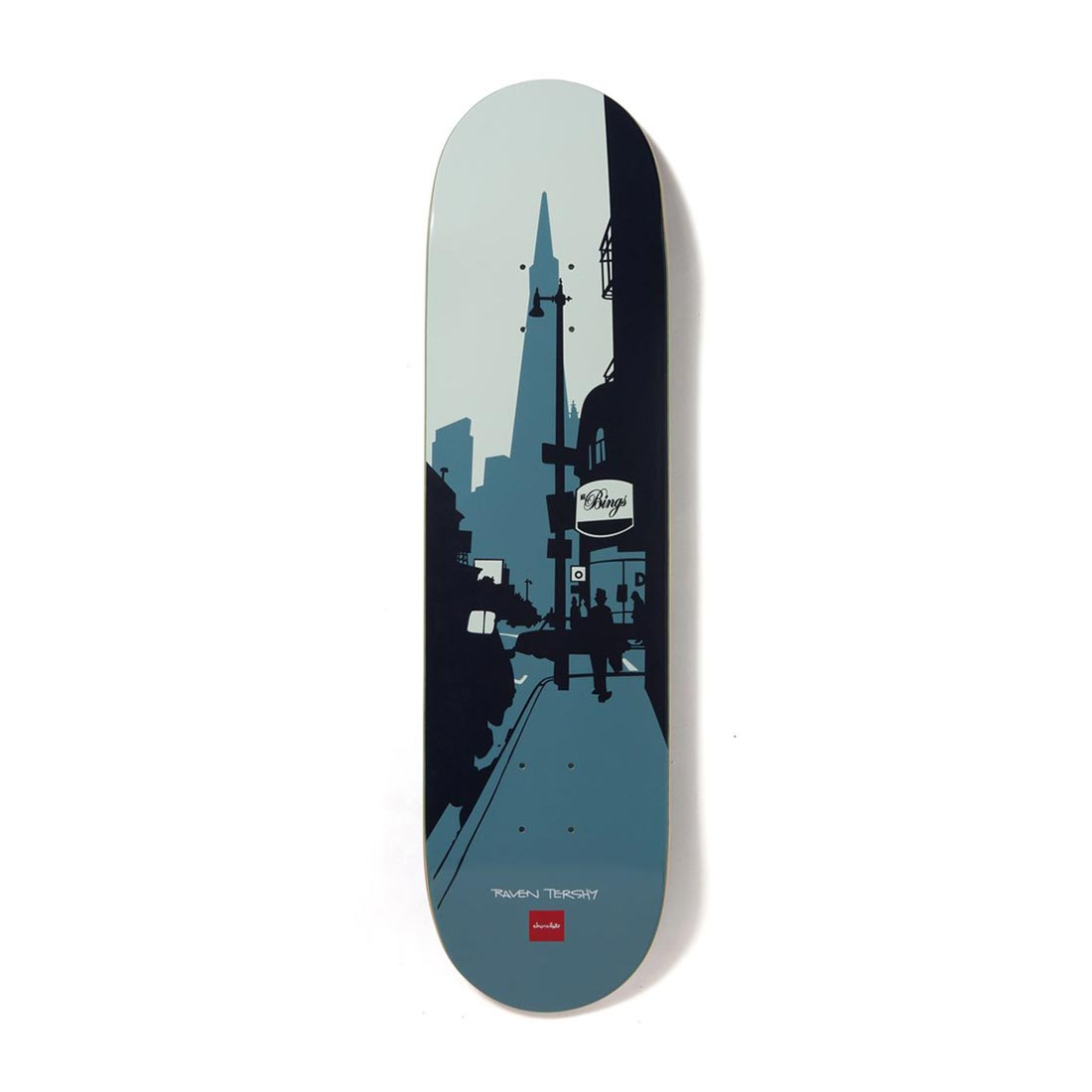 "Chocolate Skateboards The City Series Raven Tershy 8.25"" Deck"