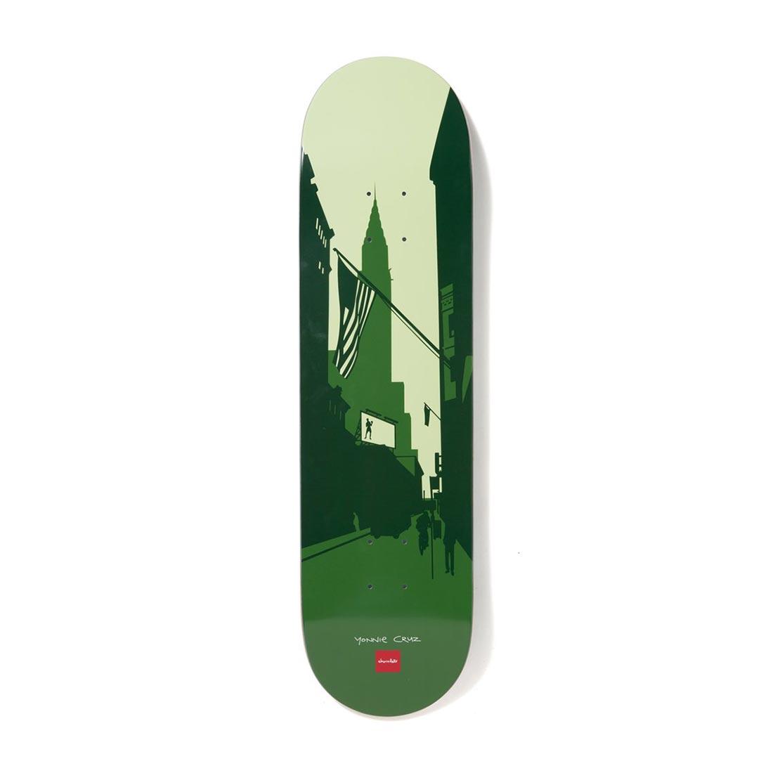 "Chocolate Skateboards The City Series Yonnie Cruz 8.125"" Deck"