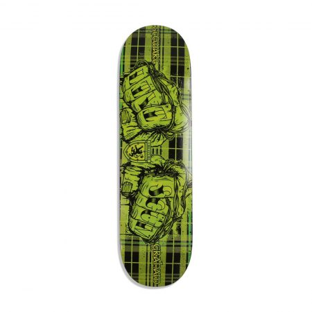 "Creature Livi Scum LTD 8.8"" Skateboard Deck - Green / Black"