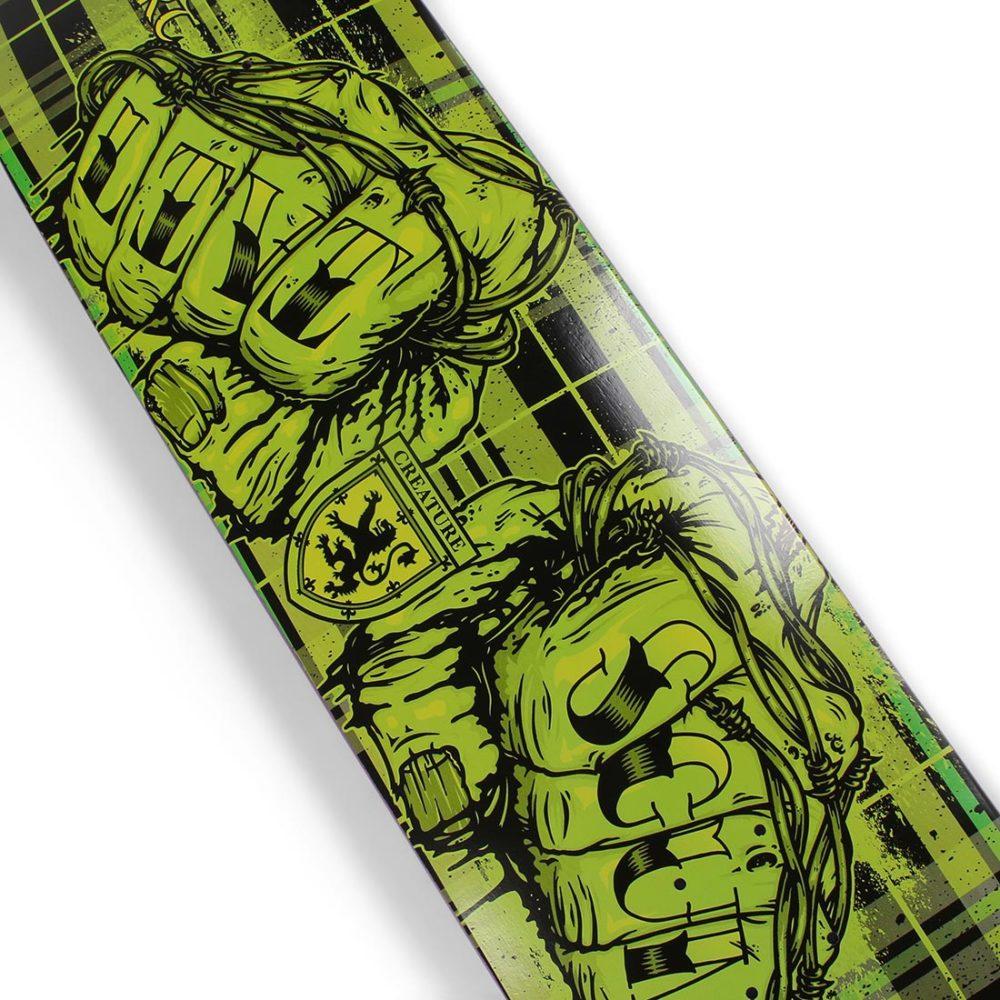 "Creature Livi Scum LTD 8.8"" Skateboard Deck - Green / Black"