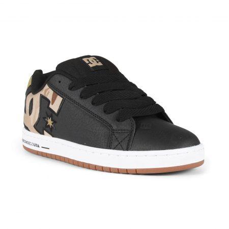 DC Shoes Court Graffik SE - Black / Military Camo