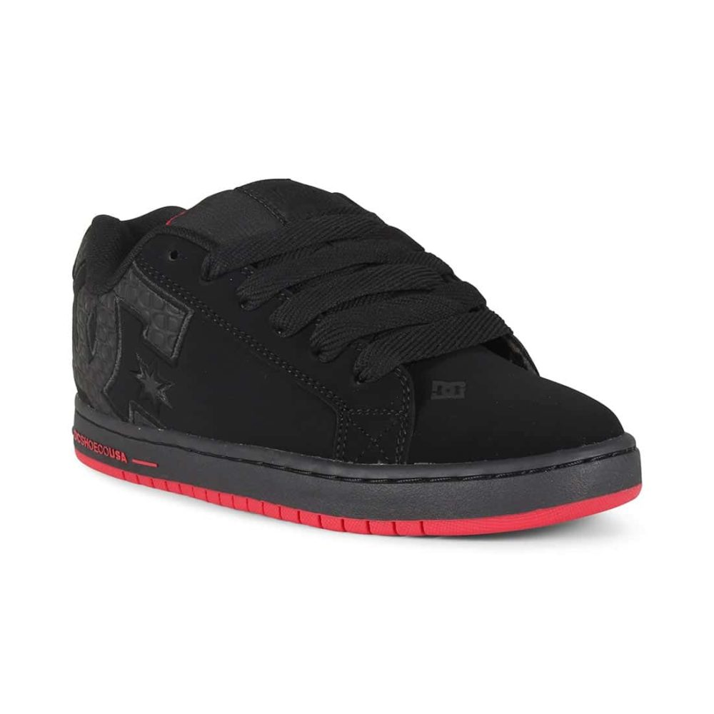 DC-Shoes-Court-Graffik-SE-Black-Red-Black-01