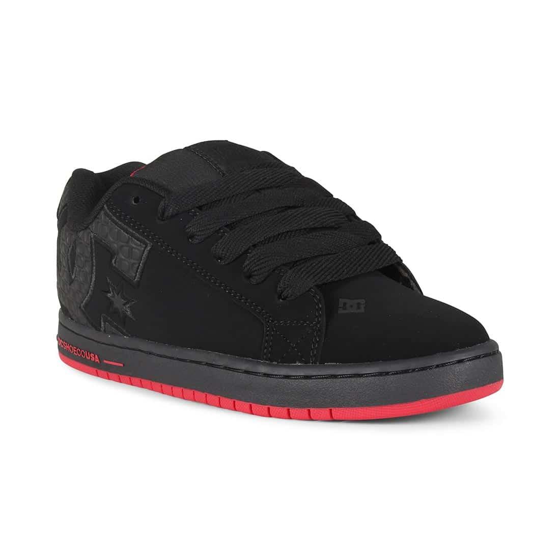 DC Shoes Court Graffik SE - Black / Red / Black