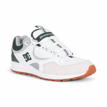 DC Shoes Kalis Lite – White / Grey / Green