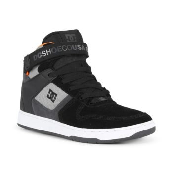 DC Pensford Shoes Black Black Grey