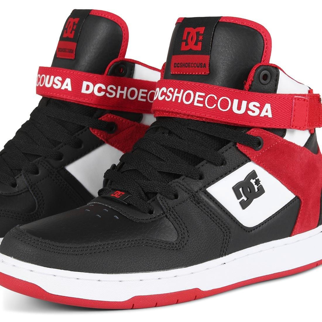DC Shoes Pensford - Black / White / Red