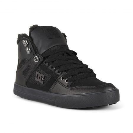 DC Shoes Pure High Top WC WNT - Black / Black / Black