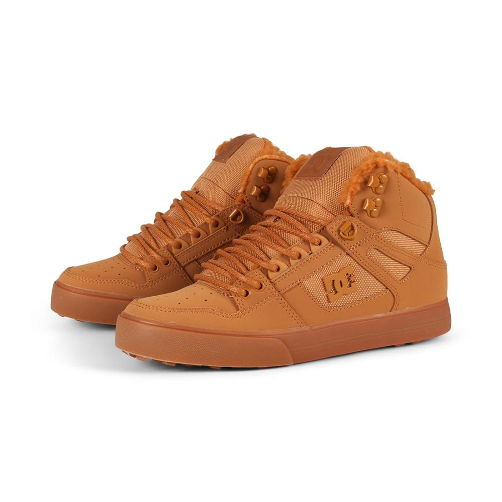 DC Shoes Pure High Top WC WNT - Wheat White