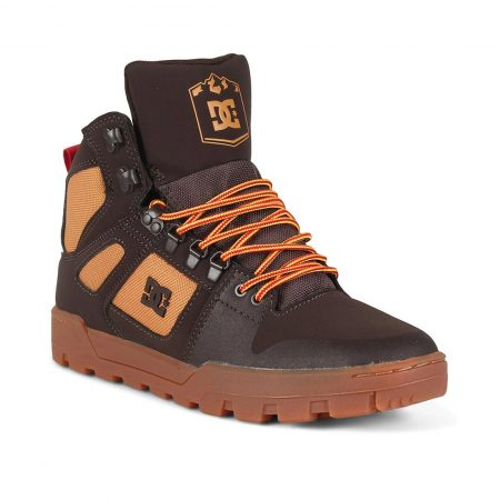 DC Shoes Pure High Top WR Boot - Chocolate Brown