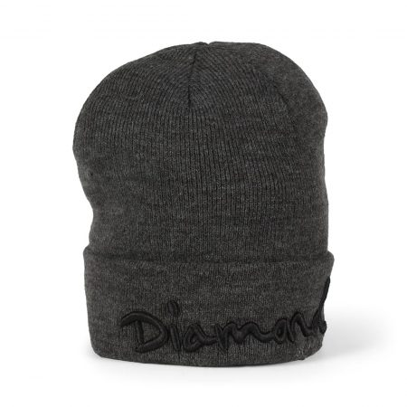 Diamond Supply Co OG Script Beanie - Gunmetal Heather