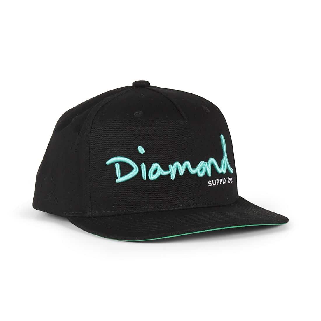 8c2484347fb4db Diamond Supply Co OG Script Snapback Hat – Black