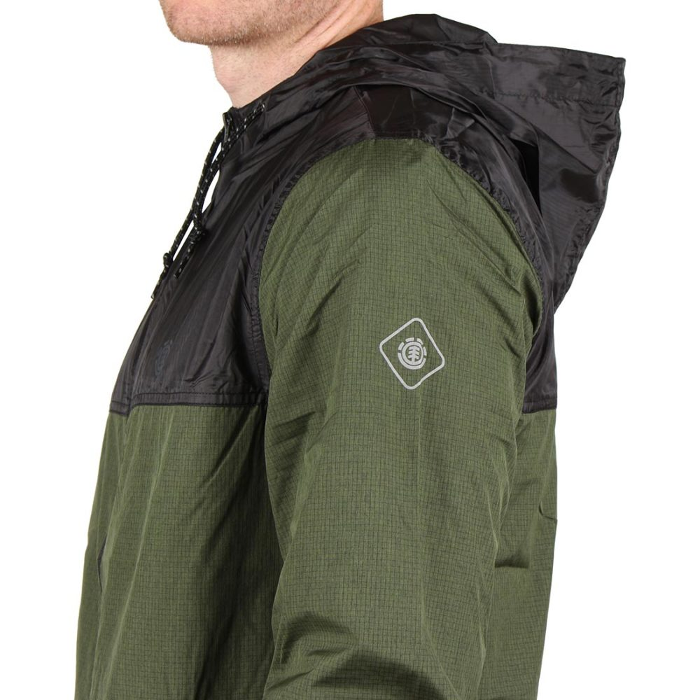 Element Alder Travel Well Jacket - Rifle Green Heather