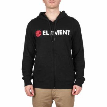 Element Blazin Zip Hoodie - Flint Black