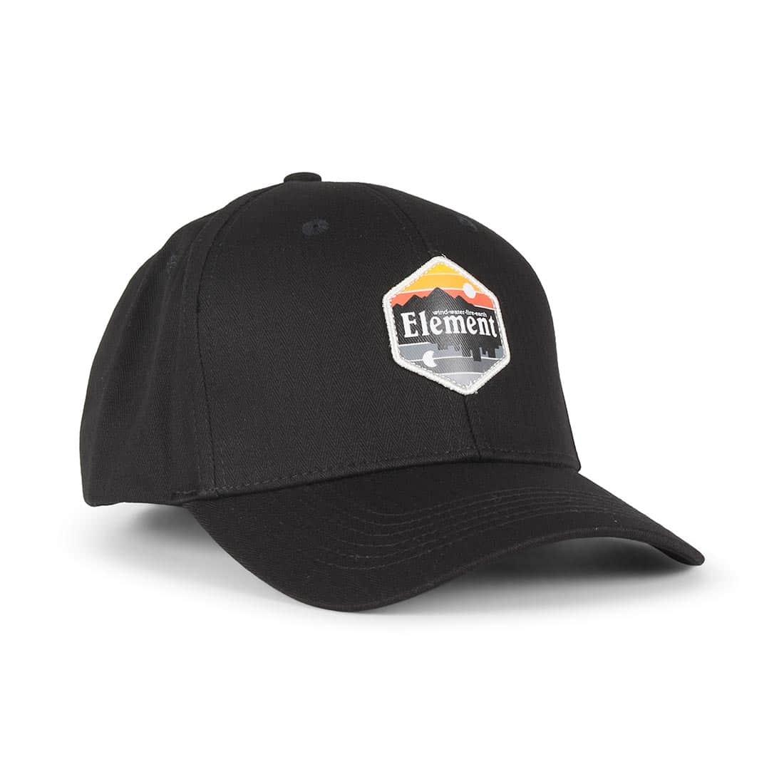42fa7eda61b Element Camp II Snapback Cap - Original Black