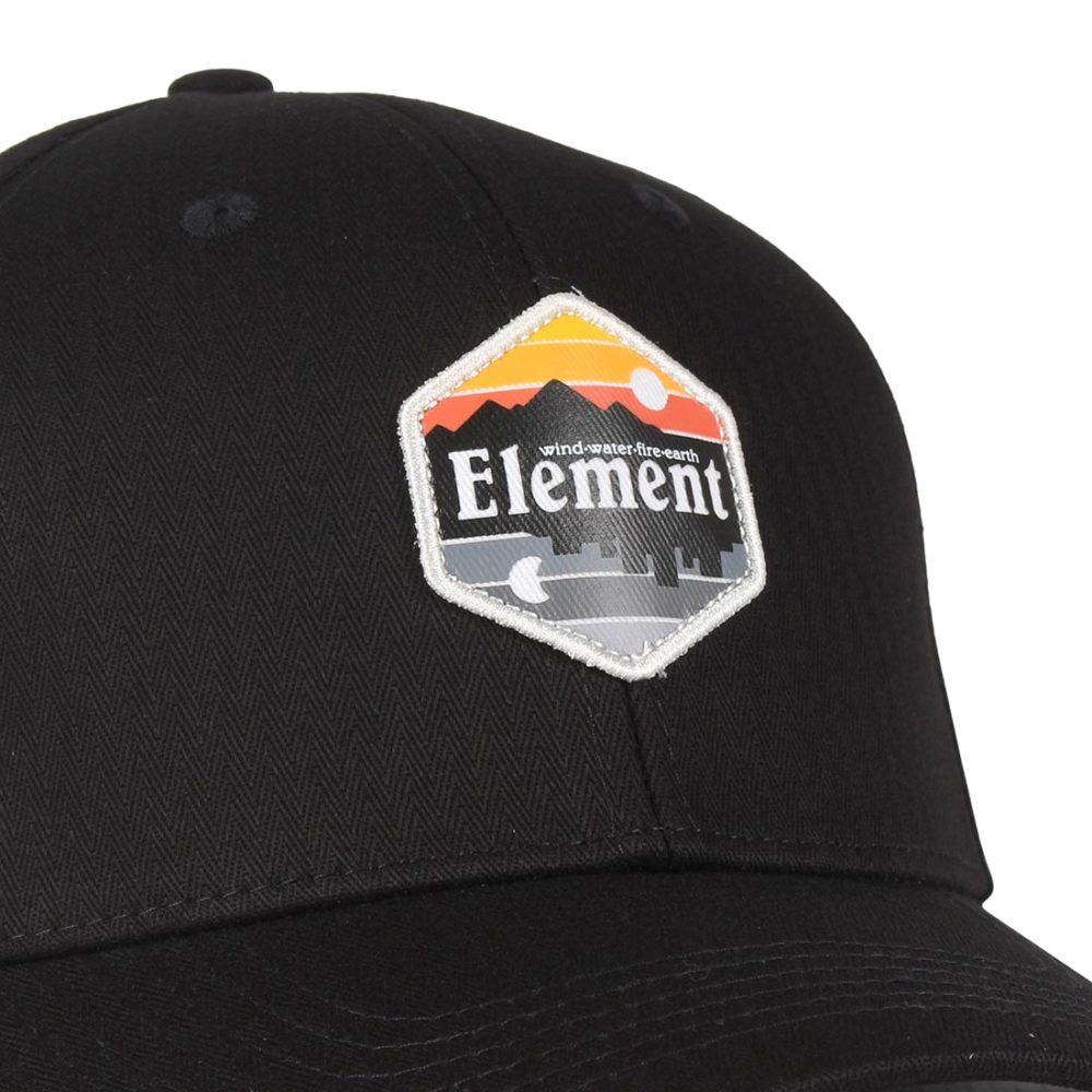 03d1f18b637 Element-Camp-II-Snapback-Cap-Original-Black-02