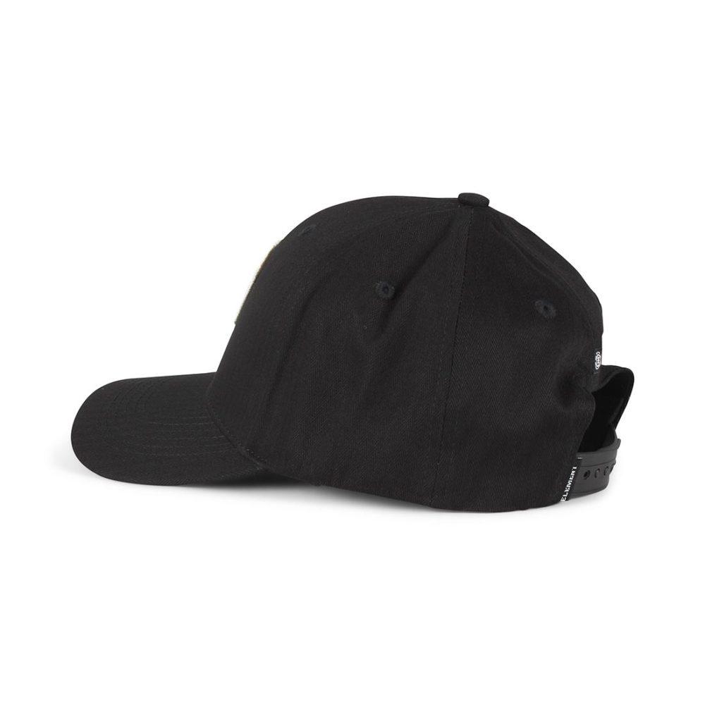 52b8a0176d0 Element-Camp-II-Snapback-Cap-Original-Black-03