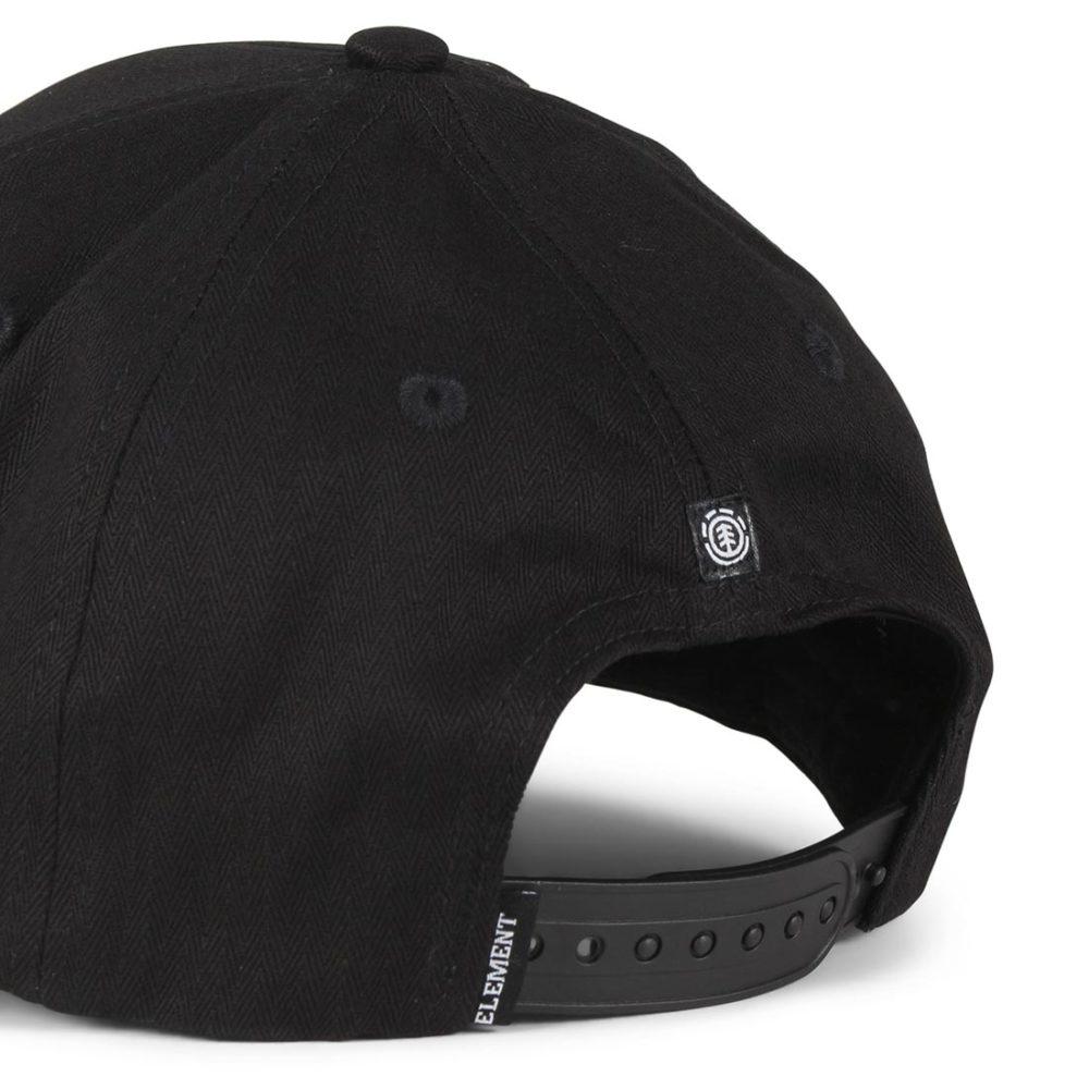 ba8a593b723 Element-Camp-II-Snapback-Cap-Original-Black-04
