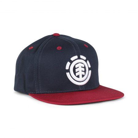 Element Knutsen Snapback Cap - Red Dahlia