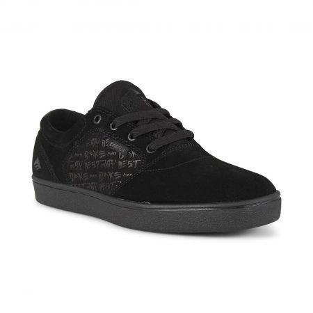 Emerica Figgy Dose x Baker Shoes - Black / Black
