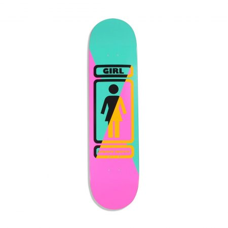"Girl Skateboards 93 Til W36 Andrew Brophy 8"" Deck"