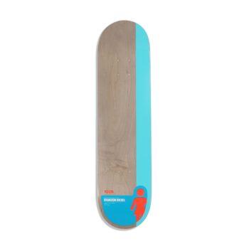 "Girl Skateboards Tail Block Brandon Biebel 8"" Deck"
