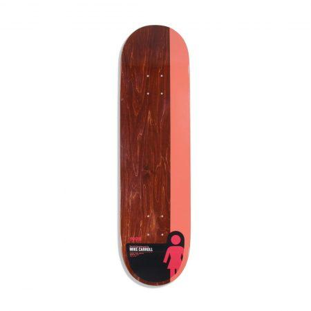 "Girl Skateboards Tail Block Mike Carroll 8.375"" Deck"