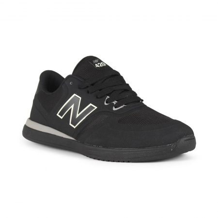 New Balance Numeric NM420 Shoes - Black / Black